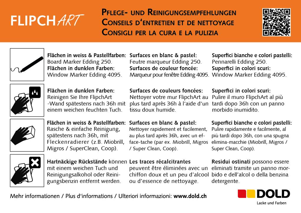 Deko FlipchArt | Dold AG - Lacke und Farben